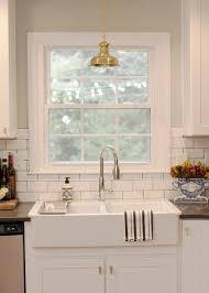 kitchen design ideas country white kitchen subway tile backsplash