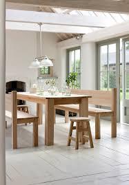 hambledon oak table and bench set at garden trading b e a c h