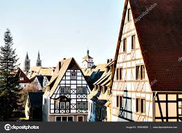 traditional european houses traditional house in the german style in rothenburg ob der tauber