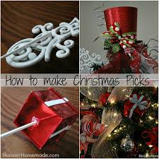 christmas picks magical scandinavian christmas tree diy ornaments hoosier