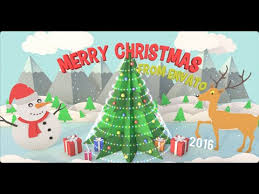 christmas pop up card after effects template youtube