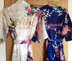 wedding dressing gowns best 25 floral dressing gown ideas on bridesmaids and