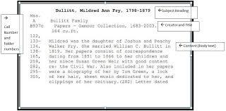 filson historical society manuscript card catalog the filson