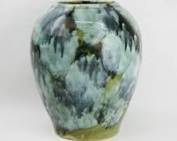 Mccoy Vase Value Mccoy Green Vase Etsy