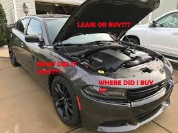 lease dodge charger rt 2017 dodge charger r t what did it cost lease or buy