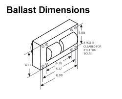 1000 watt metal halide ballast kit m47 replacement probe start