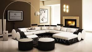 showroom canapé canapé d angle design panoramique avec relax intégré en cuir italien