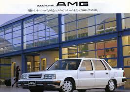 mitsubishi amg デボネアv amg 89年4月パーソナルシリーズ専用カタログより