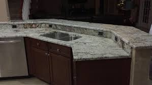 How To Install A Tile Backsplash In Kitchen Granite Countertop What Color Cabinets For Small Kitchen Over