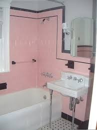 paint color for 1930 bathroom with pink tile 1930 s bathroom tile