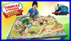 thomas train set wooden table thomas and friends wooden railway grow with me play table kids