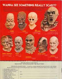 distortions unlimited mask ads blood curdling blog of monster masks