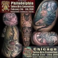 by leo villasenor at philadelphia tattoo convention tattoos