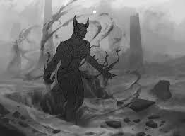art in focus dread wanderer by josh hass original magic art