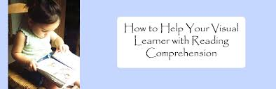 how to help your visual learner with reading comprehension