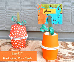 easy diy thanksgiving place cards snippets