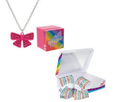 jojo s earrings jojo siwa necklace or bow with singing box qvc