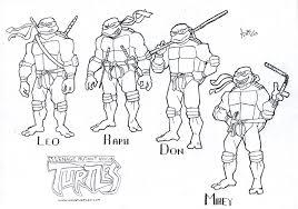 teenage mutant ninja turtles coloring pages gekimoe u2022 3170