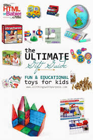 fun and educational gifts for kids