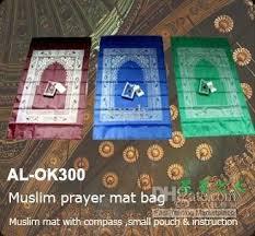 muslim prayer mat bag compass makkah prayer rugs quran muslim