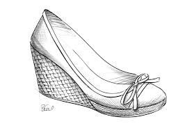 draw shoes on fashion sketches drawing art u0026 skethes