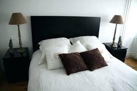 chambre avec lit noir deco lit chambre lit noir deco fer forge idee deco avec lit
