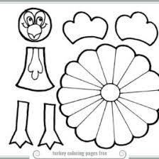 Picture Of A Turkey Coloring Page Printable Coloring Pages Small Turkey Coloring Pages Printable