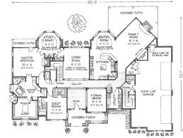 european style house plan 5 beds 4 5 baths 5388 sq ft plan 310