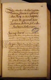 Ottoman Empire Laws Capitulations Of The Ottoman Empire