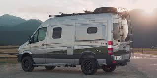 ford earthroamer xv hd winnebago u0027s mercedes benz revel 4x4 camper van is built for off