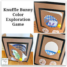 knuffle bunny color exploration activity