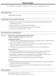 Medical Assistant Resume Samples by Best Ratchet Set Jungleresumeexample Com