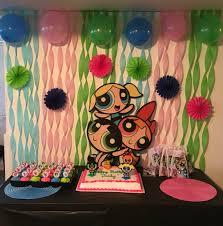 Powerpuff Girls Decorations Powerpuff Girls Birthday Party My Pinterest Inspired