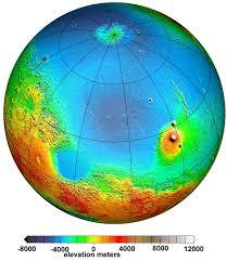 World Map With Hemispheres by Great Desert U003d Mars Maps 2