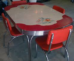 50 s diner table and chairs 54 of the best retro kitchen dining tables ever