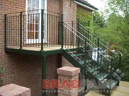 Access Stairs Design Steel Fabricators Of Balconies Staircases External Steel