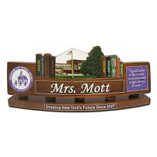 Personalized Desk Name Plates Department Of Defense Teacher Personalized Wooden Desk
