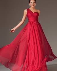 red one shoulder bridesmaid dresses dress images