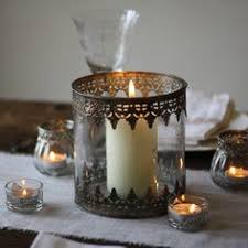 Home Decor Glass Amazing Flameless Candle All Weather Metal Lantern 7760 Rsd