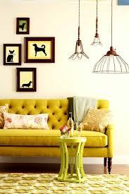 canapé jaune moutarde 1001 idées de décors avec couleur moutarde des conseils