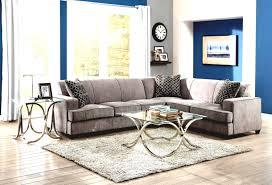 Oversized Floor L White Blue Living Room Using L Shape Gray Velvet Oversized