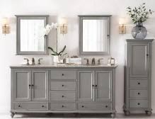 bathroom vanity and linen cabinet combo amazing 60 69 inch vanities double bathroom sink vanity of and linen