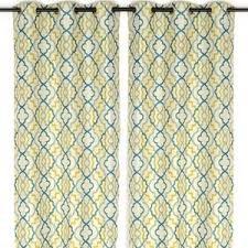 Marrakech Curtain Marrakech Blue And Green Curtain Panel Set 96 In Polyvore