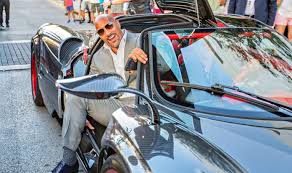 custom pagani dwayne johnson u0027s cars what does the rock own drivetribe