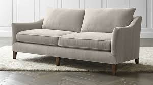 Russell Pinch Sofa Keely Apartment Sofa Crate And Barrel