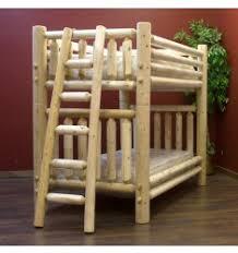 Log Bunk Beds For Kids Adult Cabin Log Bunk Beds Log Queen Bunk Beds - Log bunk beds