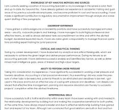 stunning ideas resume skills and abilities 9 ksas sample cv