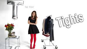 how to wear tights easy holiday ideas youtube