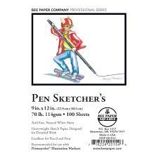 pen sketcher u0027s u2013 bee paper