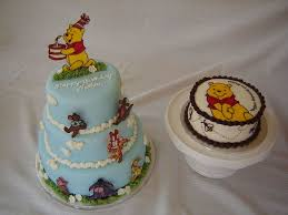 winnie the pooh cake and smash cake cakecentral com